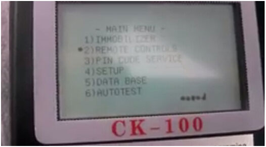 CK100 programmer Chrysler key