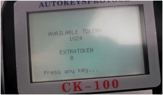 CK100 programmer Chrysler key