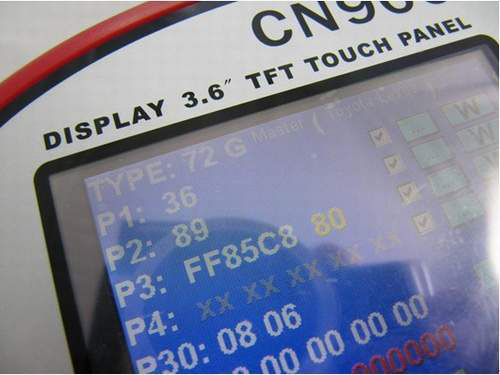 CN900 read Toyota G chip