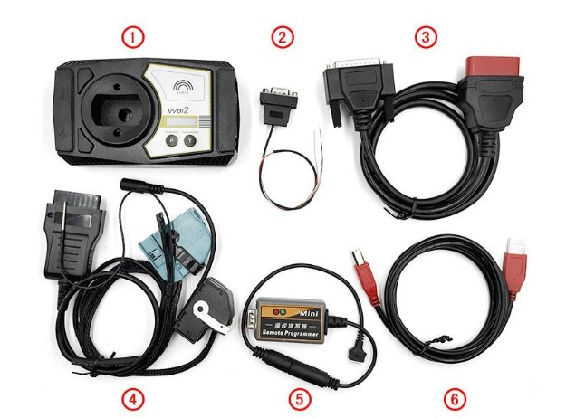 VVDI2 key programmer package