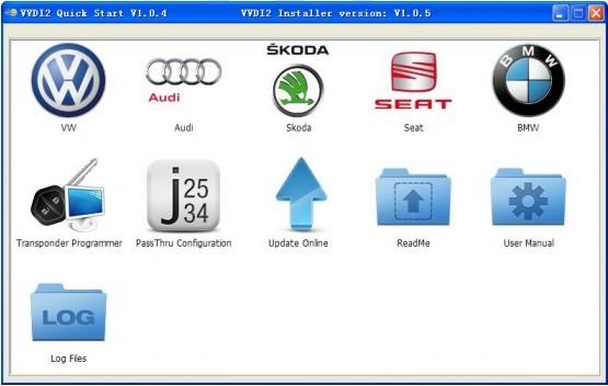 vvdi2- quick start tool