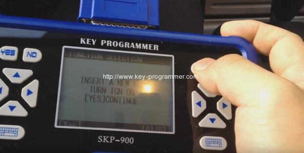 skp900-insert-un nouveau-ford-clé