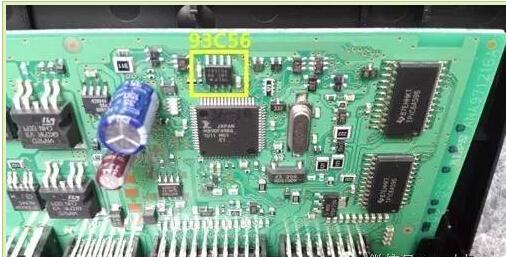 Cadillac-sls-key-programmation-93c56-2