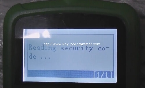 OBDSTAR-F108-program-Citroen-C5-key-10