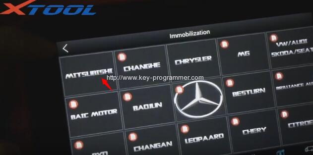 xtool-x100-pad-program-mitsubishi-outlander-key-3