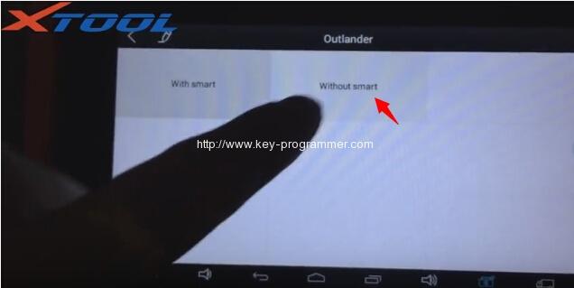 xtool-x100-pad-program-mitsubishi-outlander-key-7