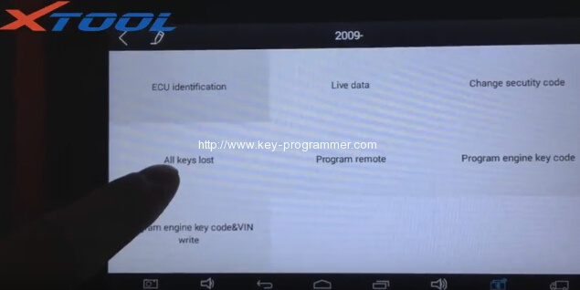 xtool-x100-pad-program-mitsubishi-outlander-key-9