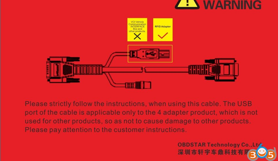 obdstar-x300-dp-usb-connector-warning