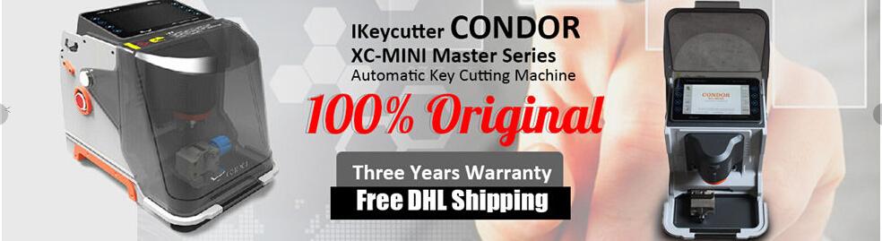 Condor XC-Mini Software V4 0 3 Update Feature-OBD365 com