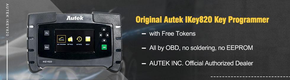 980 280 Original Autek IKey820 Key Programmer 2
