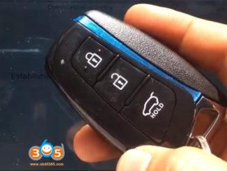 Autel Im508 2015 Hyundai Santa Fe Akl 1