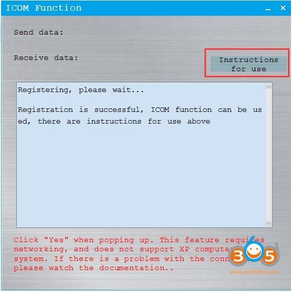 Cgdi Bmw Adds Icom Function 2