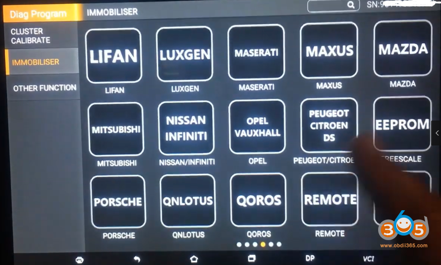 Obdstar X300 Dp Plus Nissan Navara 1