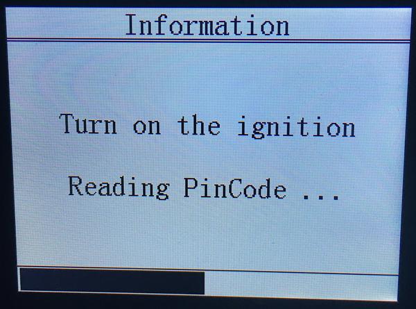 Obdstar Citroen C4 Pin Code 11