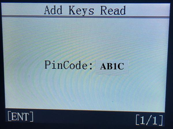 Obdstar Citroen C4 Pin Code 12