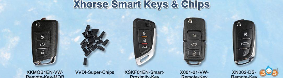 Xhorse Smart Keys & Chips