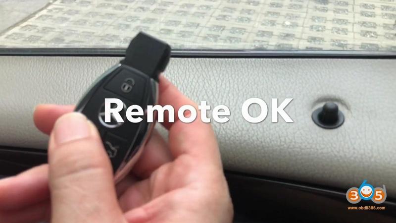 Autel Maxiim Im508 And Xp400 Add Smart Remote Benz C180 50