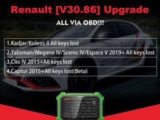 Obdstar Renault