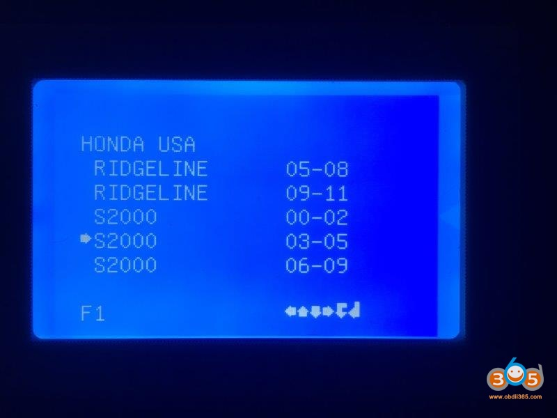 Ck100 Honda 2004 S2000 Add Key 5