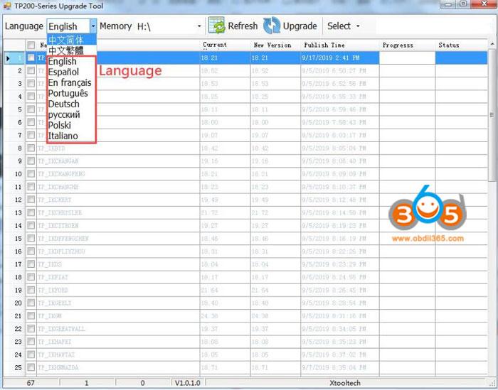 Update Xtool Software 5