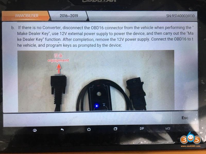 Obdstar Dp Plus Renault Clio Iv 2018 All Key Lost Help Files 07