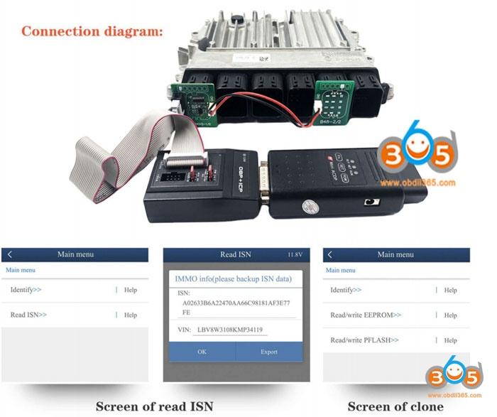 Yanhua B48 B58 Interface Board