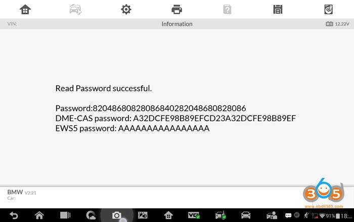 Autel Maxiim Im608 Bmw Fem Lost Keys Programming 12