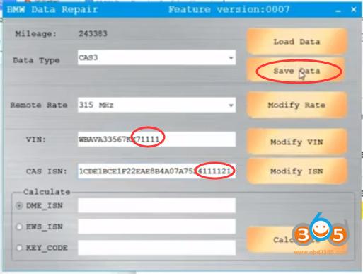 Cgdi Bmw Repair Data Cas3 4