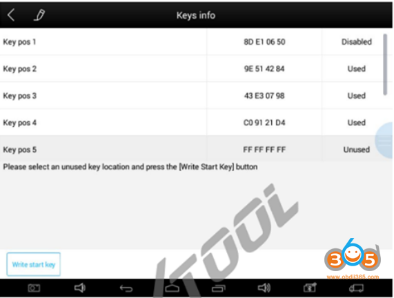 Xtool Program Bmw Ews Key 13