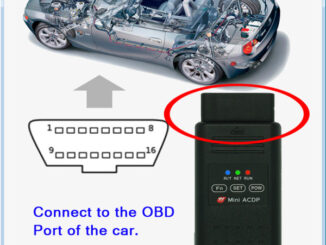 Mini Acdp Bmw 8hp Isn Clear E Chassis 06