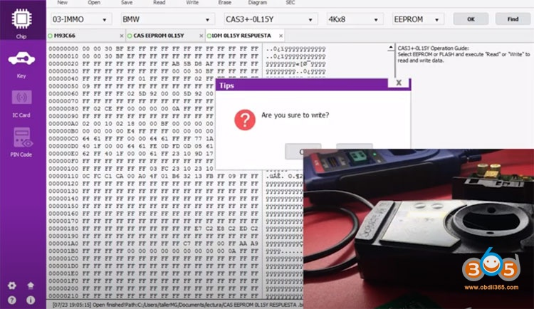 Xp400 Bmw Cas3 Key By Dump 1