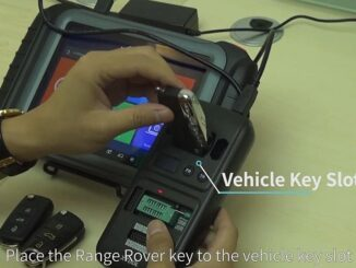 Want To Read Car Key's Remote Frequency, Transponder ID And Chip Type Accurately And Easily Just Use KC501 & X100PAD Elite(7)