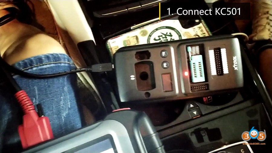 Xtool Kc501 Pad3 Obd Add Mercedes Infrared Key 08