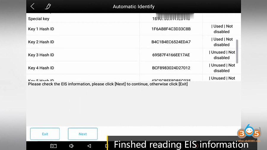 Xtool Kc501 Pad3 Obd Add Mercedes Infrared Key 14