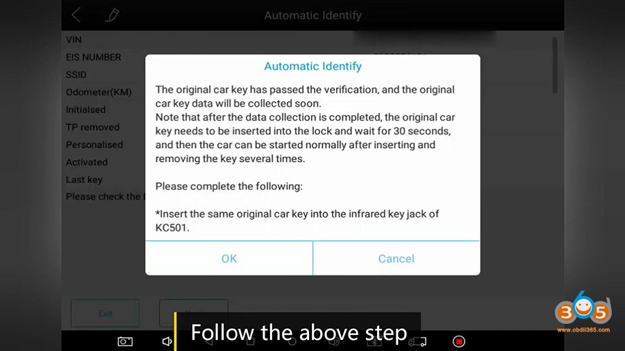 Xtool Kc501 Pad3 Obd Add Mercedes Infrared Key 16