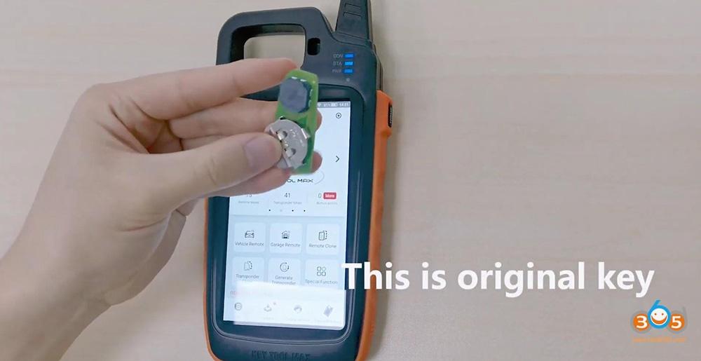 Xhorse Key Tool Max Vvdi Smart Key Clone 09