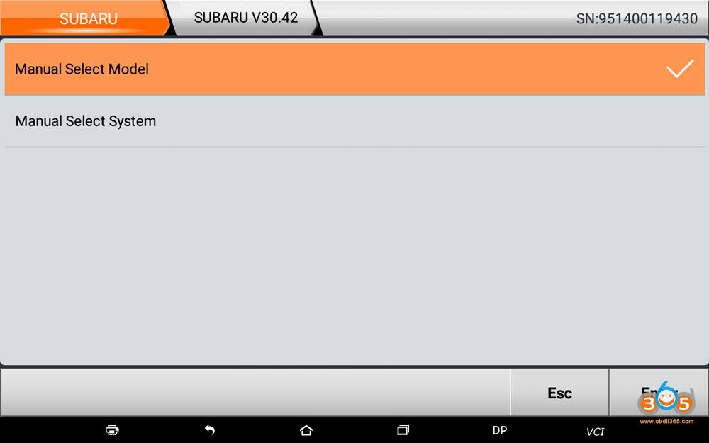 Obdstar Subaru V30 42 Update 06