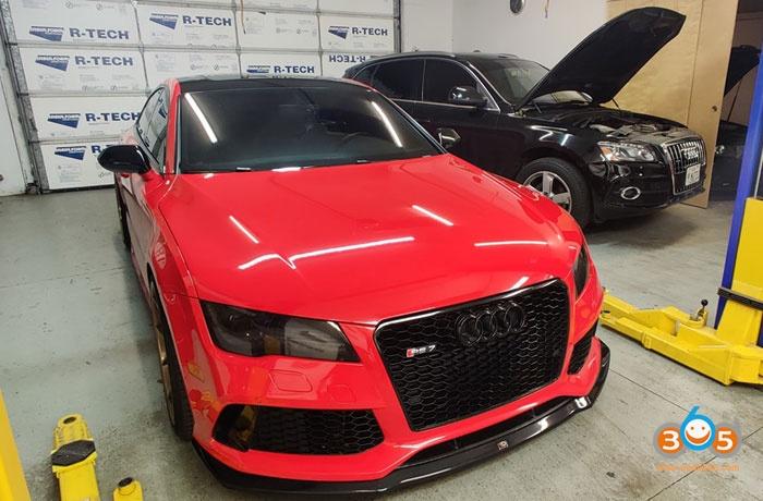 2014 Audi Rs7 Autel Im608 1
