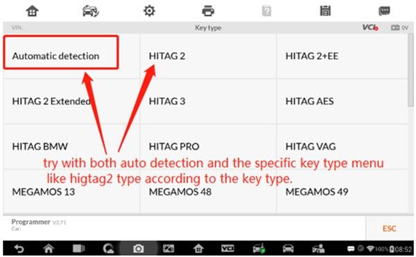 Autel Im608 Xp400 Cannot Read Transponder Solution 7