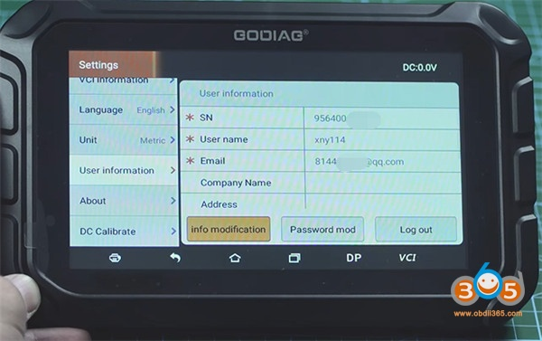 Godaig Gd801 User Guide 9