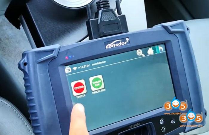 Lonsdor K518 2011 Toyota Prius 3