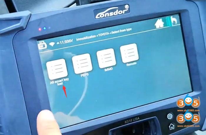 Lonsdor K518 2011 Toyota Prius 5