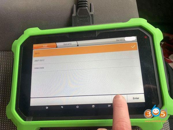 Obdstar 2012 Peugeot BOXER Remote 1