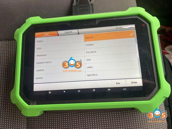 Obdstar 2012 Peugeot BOXER Remote 2