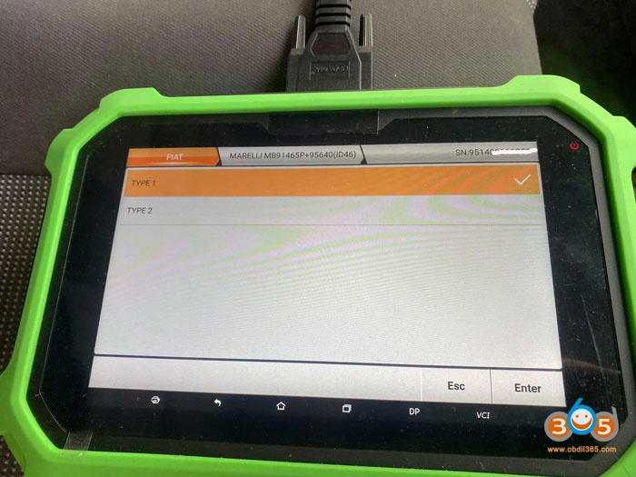 Obdstar 2012 Peugeot BOXER Remote 3