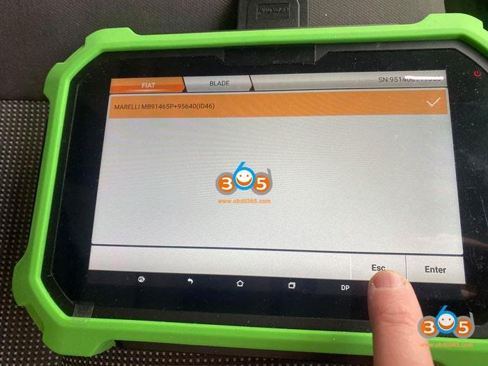 Obdstar 2012 Peugeot BOXER Remote 4