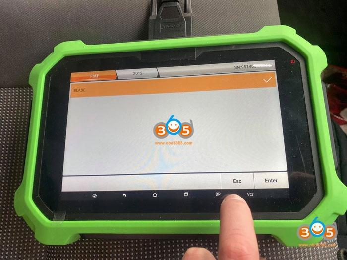 Obdstar 2012 Peugeot BOXER Remote 5