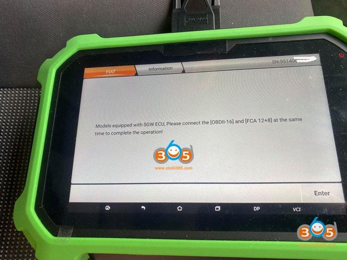 Obdstar 2012 Peugeot BOXER Remote 7
