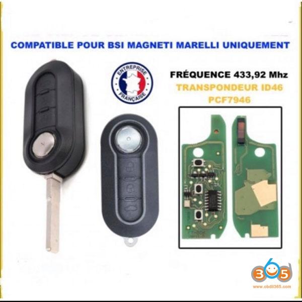 Obdstar 2012 Peugeot BOXER Remote 8
