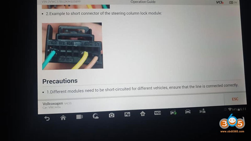 Autel Im608 Vw Jeeta 2019 Immo 3